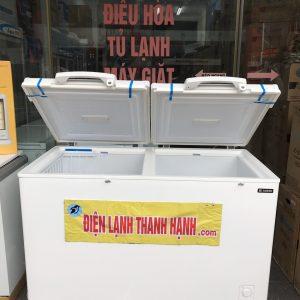 TỦ ĐÔNG SANDEN NHẬT 2 NGĂN ĐÔNG MÁT 450 LÍT SDQ 0403